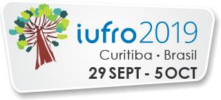 Logo XXV Congresso Mundial da IUFRO – Pesquisa Florestal e Cooperação para o Desenvolvimento Sustentável